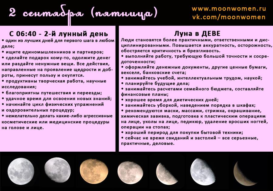 Лунный календарь секрет успеха