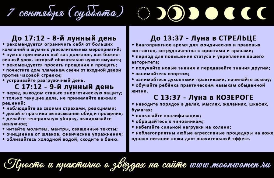 12 Лунный День Диета. 12 лунные сутки: полная характеристика — что можно и что нельзя делать?